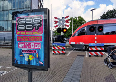 Gogbot poster in Enschede